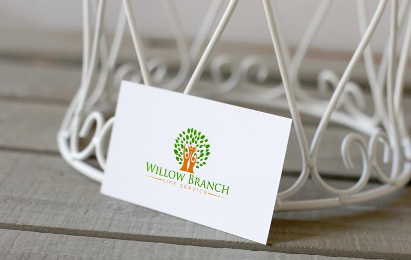 Logo Design by Md Harun Or Rashid - Entry No. 183 in the Logo Design Contest Artistic Logo Design for Willow Branch Life Service.