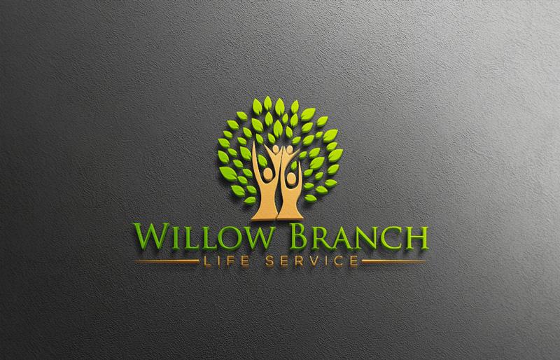 Logo Design by Md Harun Or Rashid - Entry No. 184 in the Logo Design Contest Artistic Logo Design for Willow Branch Life Service.