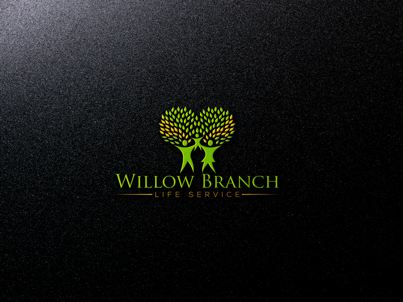 Logo Design by Md Harun Or Rashid - Entry No. 185 in the Logo Design Contest Artistic Logo Design for Willow Branch Life Service.