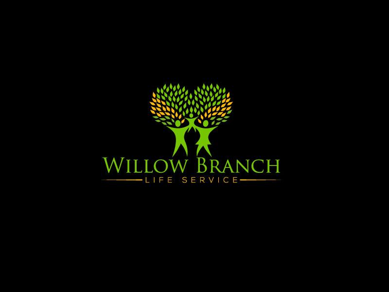Logo Design by Md Harun Or Rashid - Entry No. 186 in the Logo Design Contest Artistic Logo Design for Willow Branch Life Service.
