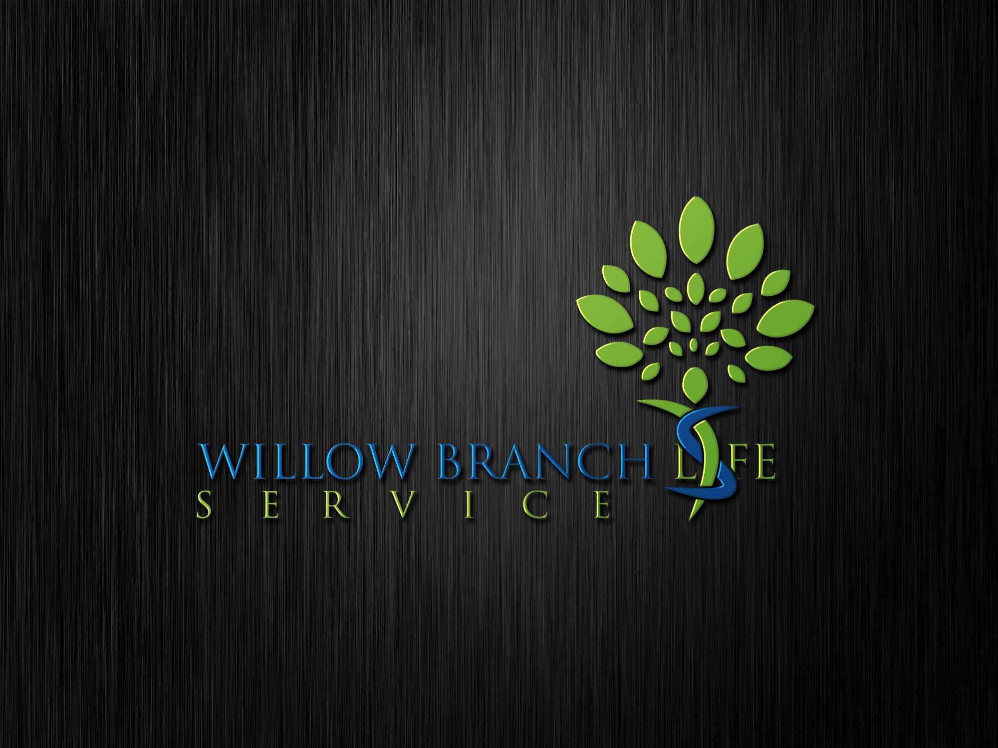 Logo Design by Private User - Entry No. 190 in the Logo Design Contest Artistic Logo Design for Willow Branch Life Service.