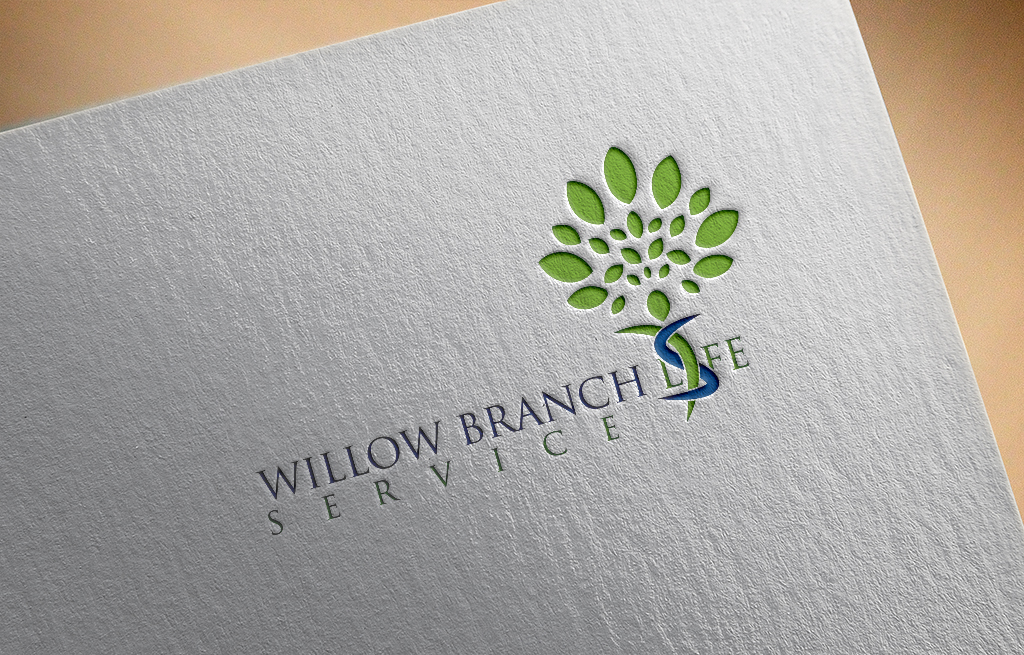 Logo Design by Private User - Entry No. 191 in the Logo Design Contest Artistic Logo Design for Willow Branch Life Service.