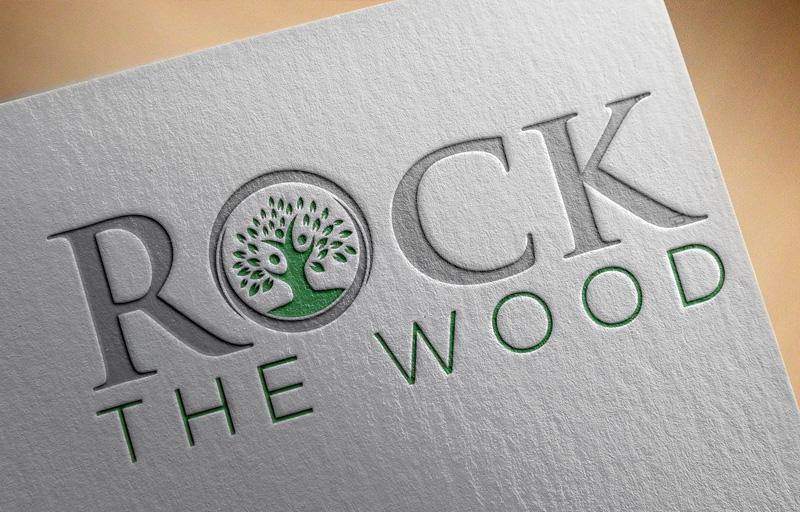 Logo Design by Md Harun Or Rashid - Entry No. 125 in the Logo Design Contest New Logo Design for Rock the Wood.