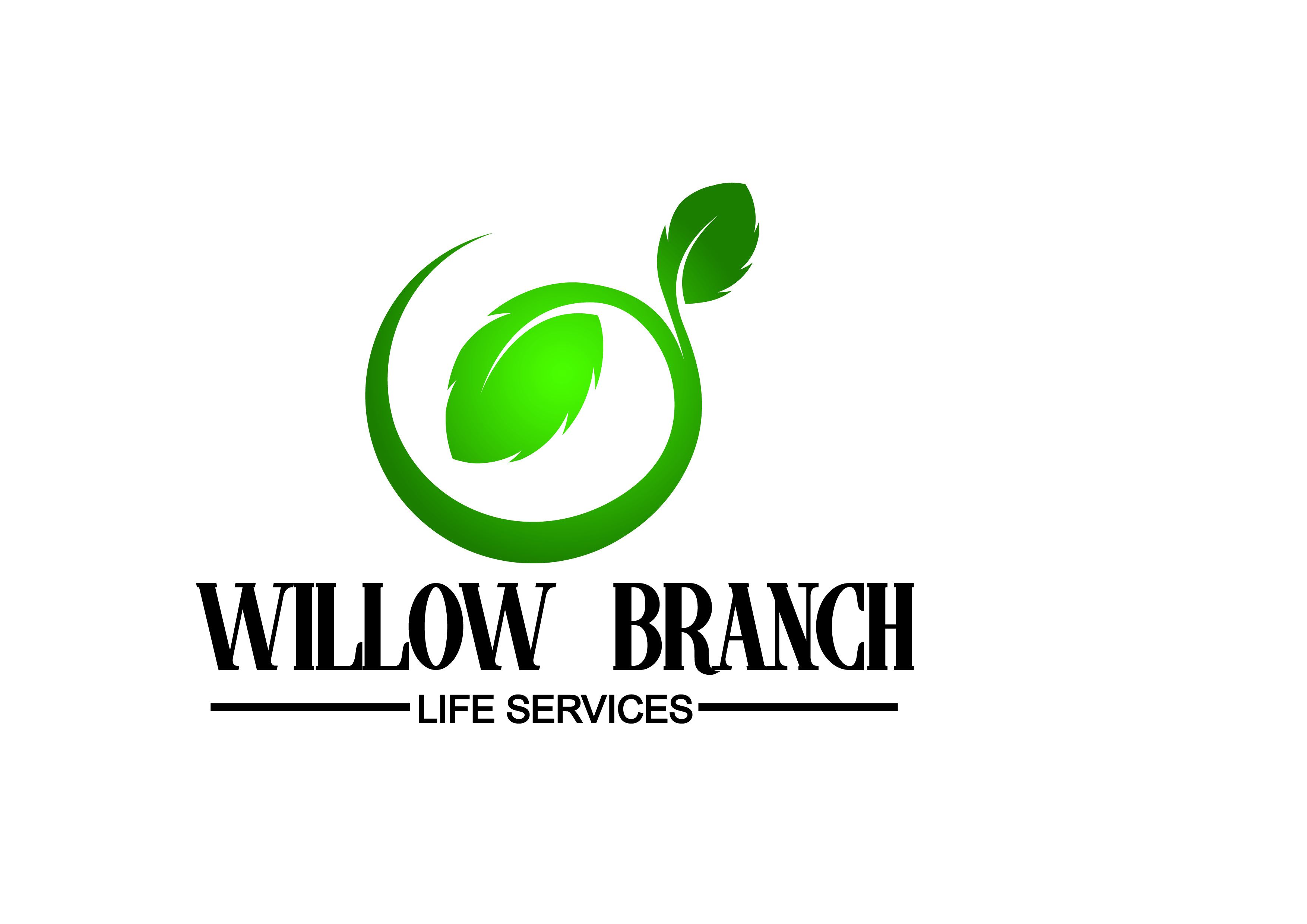 Logo Design by Anum Aamir - Entry No. 193 in the Logo Design Contest Artistic Logo Design for Willow Branch Life Service.