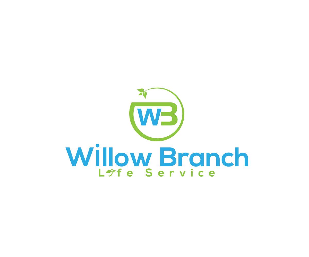 Logo Design by Abdur Rahman - Entry No. 194 in the Logo Design Contest Artistic Logo Design for Willow Branch Life Service.