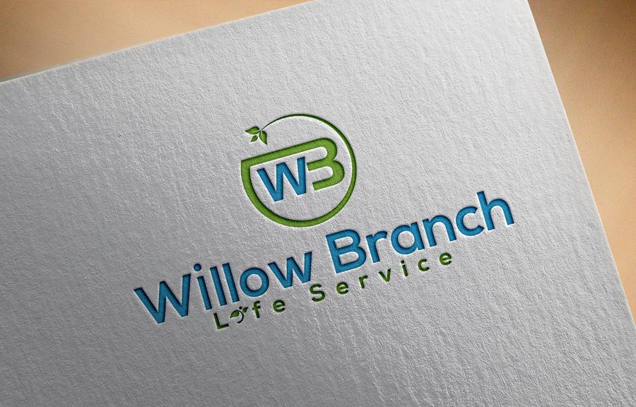 Logo Design by Abdur Rahman - Entry No. 195 in the Logo Design Contest Artistic Logo Design for Willow Branch Life Service.