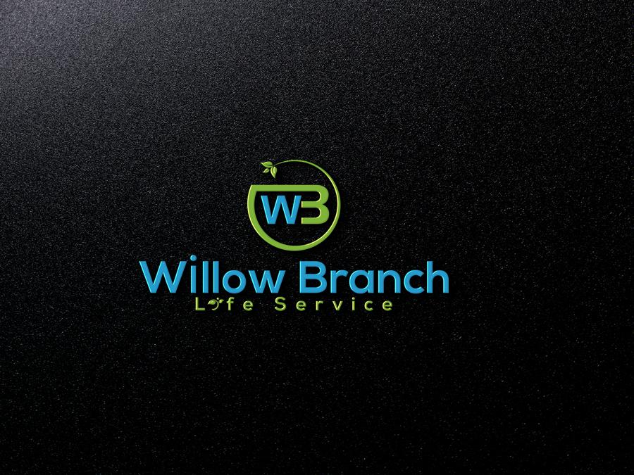 Logo Design by Abdur Rahman - Entry No. 196 in the Logo Design Contest Artistic Logo Design for Willow Branch Life Service.