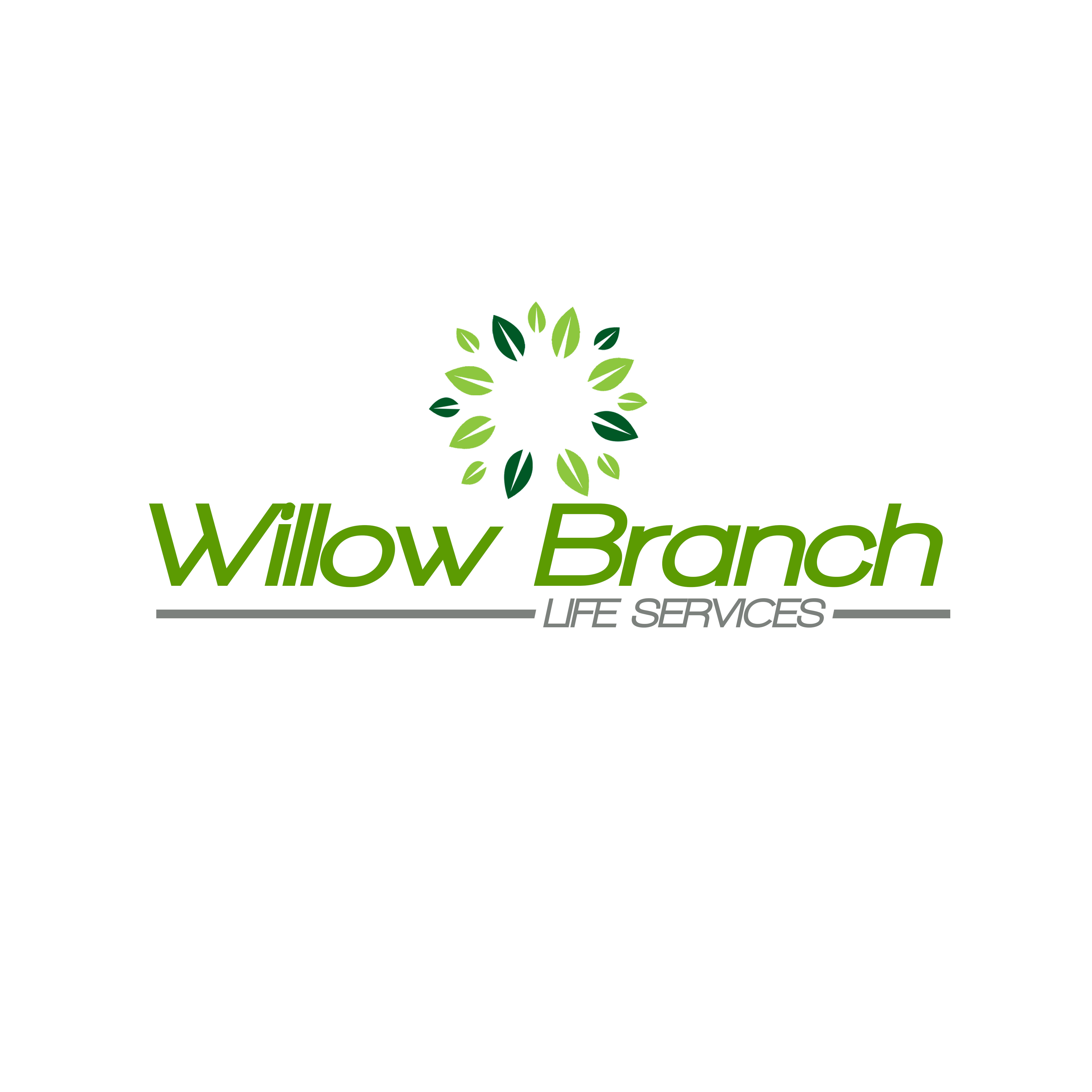 Logo Design by Private User - Entry No. 198 in the Logo Design Contest Artistic Logo Design for Willow Branch Life Service.