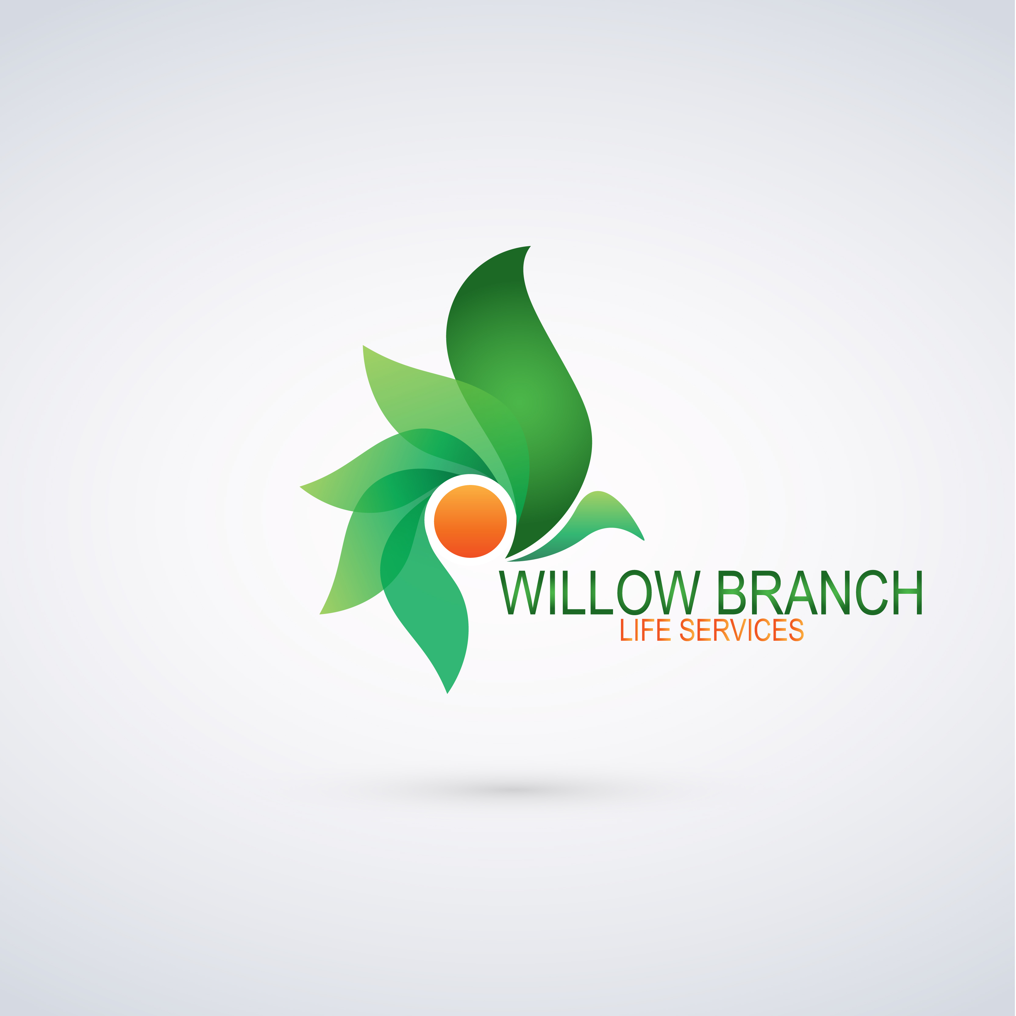 Logo Design by Anum Aamir - Entry No. 199 in the Logo Design Contest Artistic Logo Design for Willow Branch Life Service.