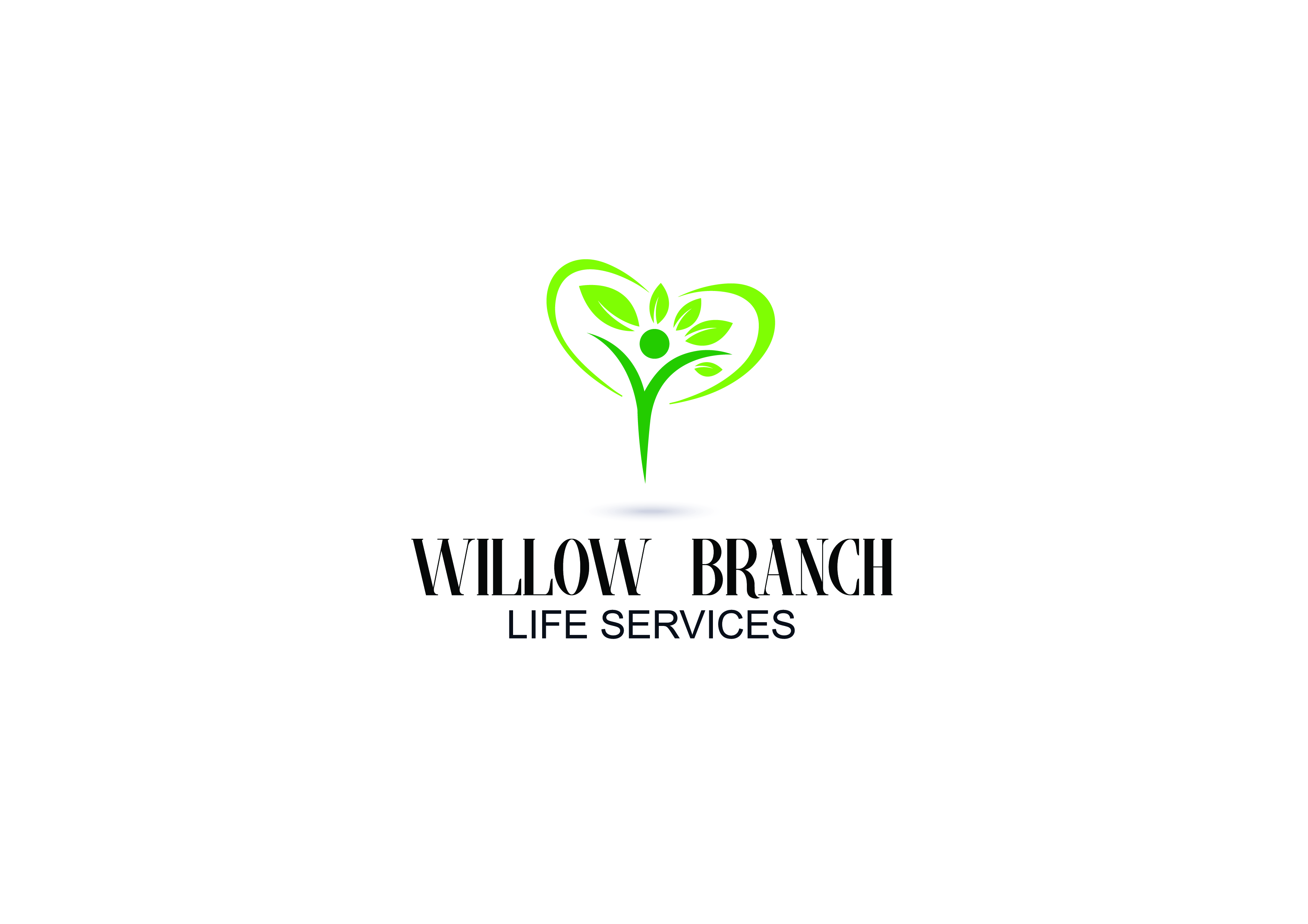 Logo Design by Anum Aamir - Entry No. 206 in the Logo Design Contest Artistic Logo Design for Willow Branch Life Service.