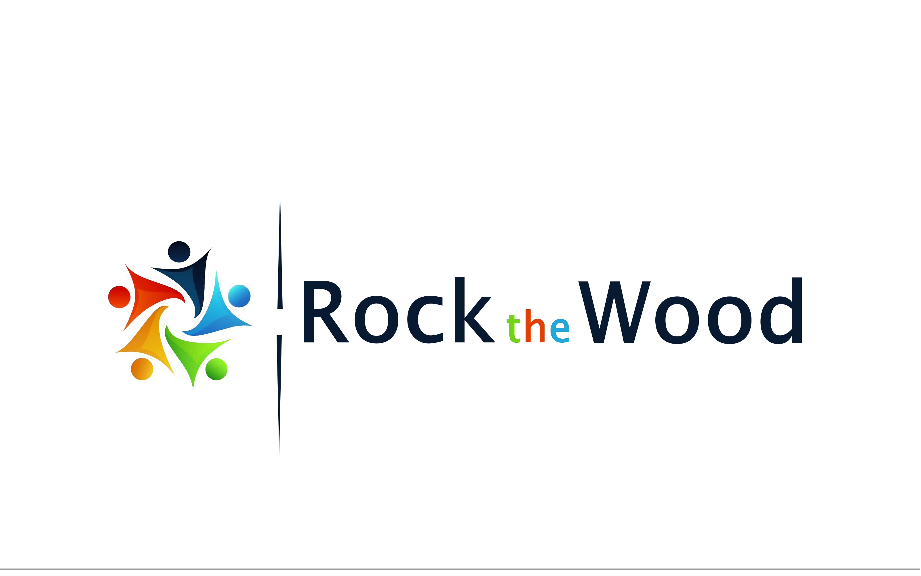 Logo Design by Roberto Bassi - Entry No. 129 in the Logo Design Contest New Logo Design for Rock the Wood.