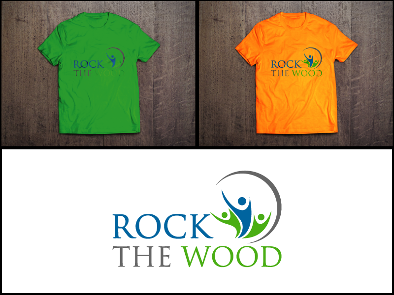 Logo Design by Private User - Entry No. 133 in the Logo Design Contest New Logo Design for Rock the Wood.