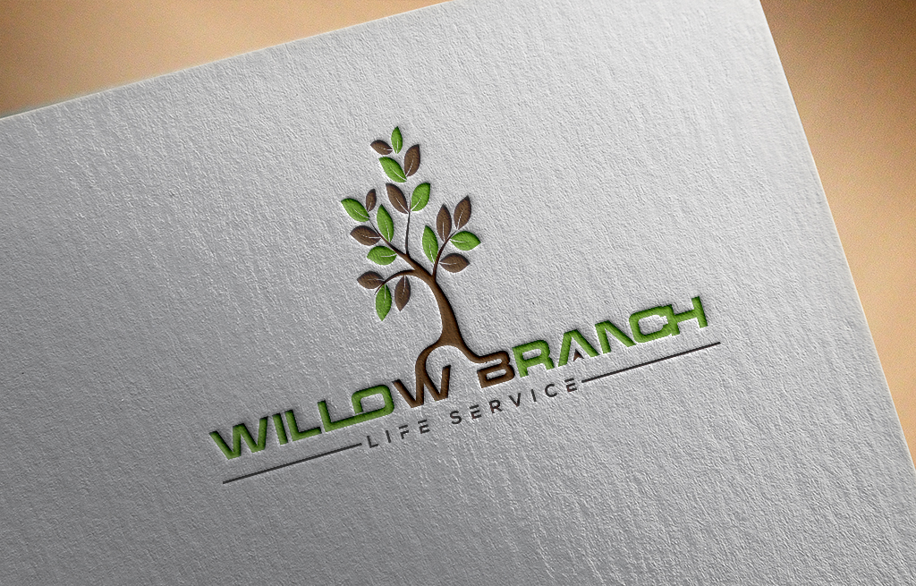 Logo Design by Kamal Hossain - Entry No. 210 in the Logo Design Contest Artistic Logo Design for Willow Branch Life Service.