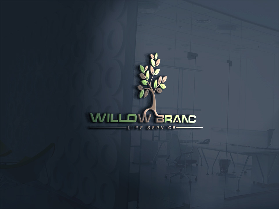 Logo Design by Kamal Hossain - Entry No. 211 in the Logo Design Contest Artistic Logo Design for Willow Branch Life Service.