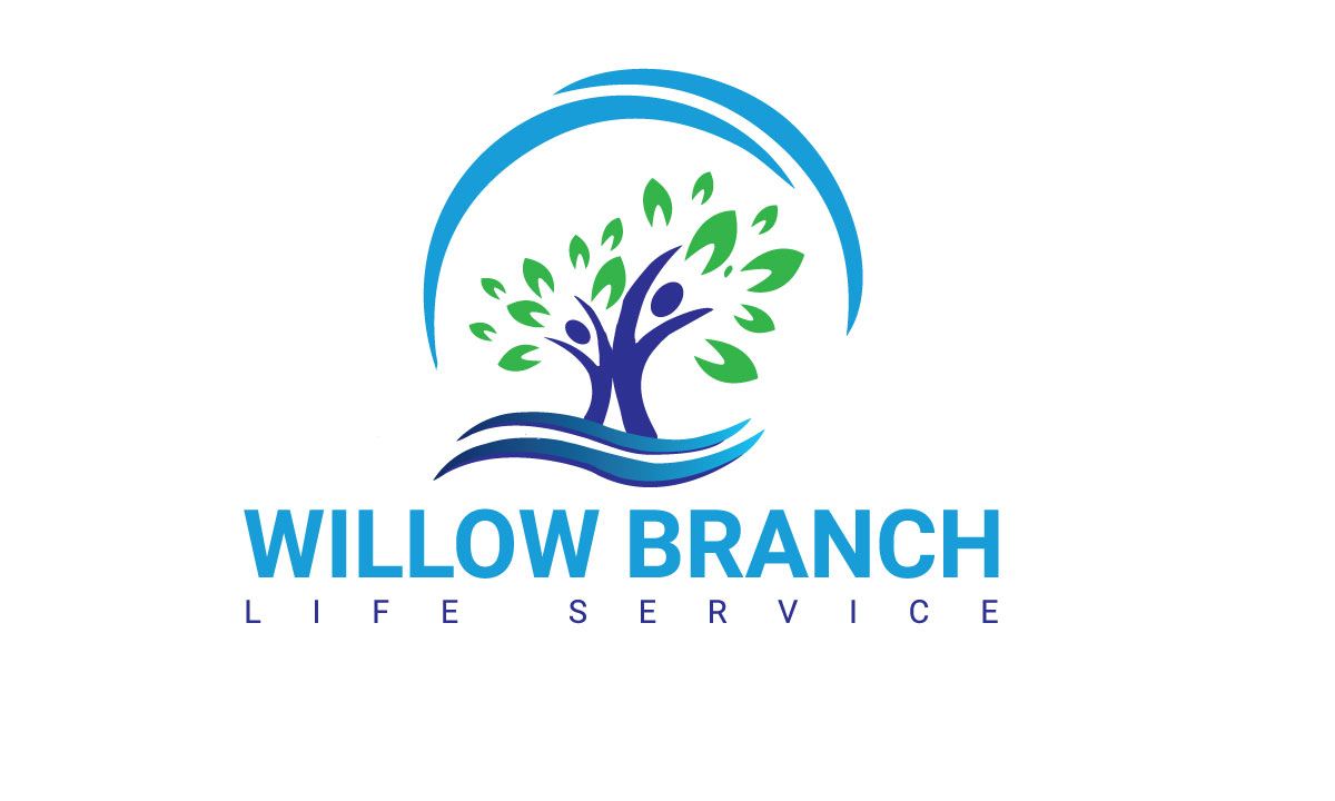 Logo Design by MD ZAHIR RAIHAN - Entry No. 213 in the Logo Design Contest Artistic Logo Design for Willow Branch Life Service.