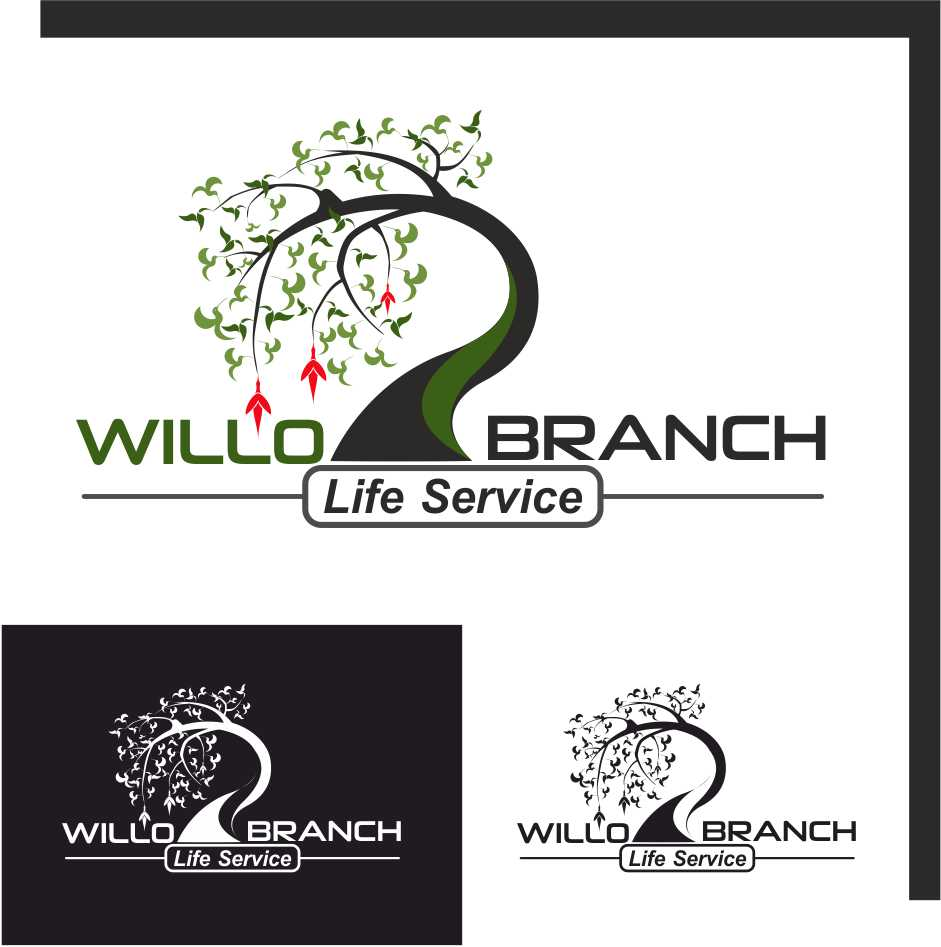 Logo Design by Taufiq Ardhani - Entry No. 214 in the Logo Design Contest Artistic Logo Design for Willow Branch Life Service.