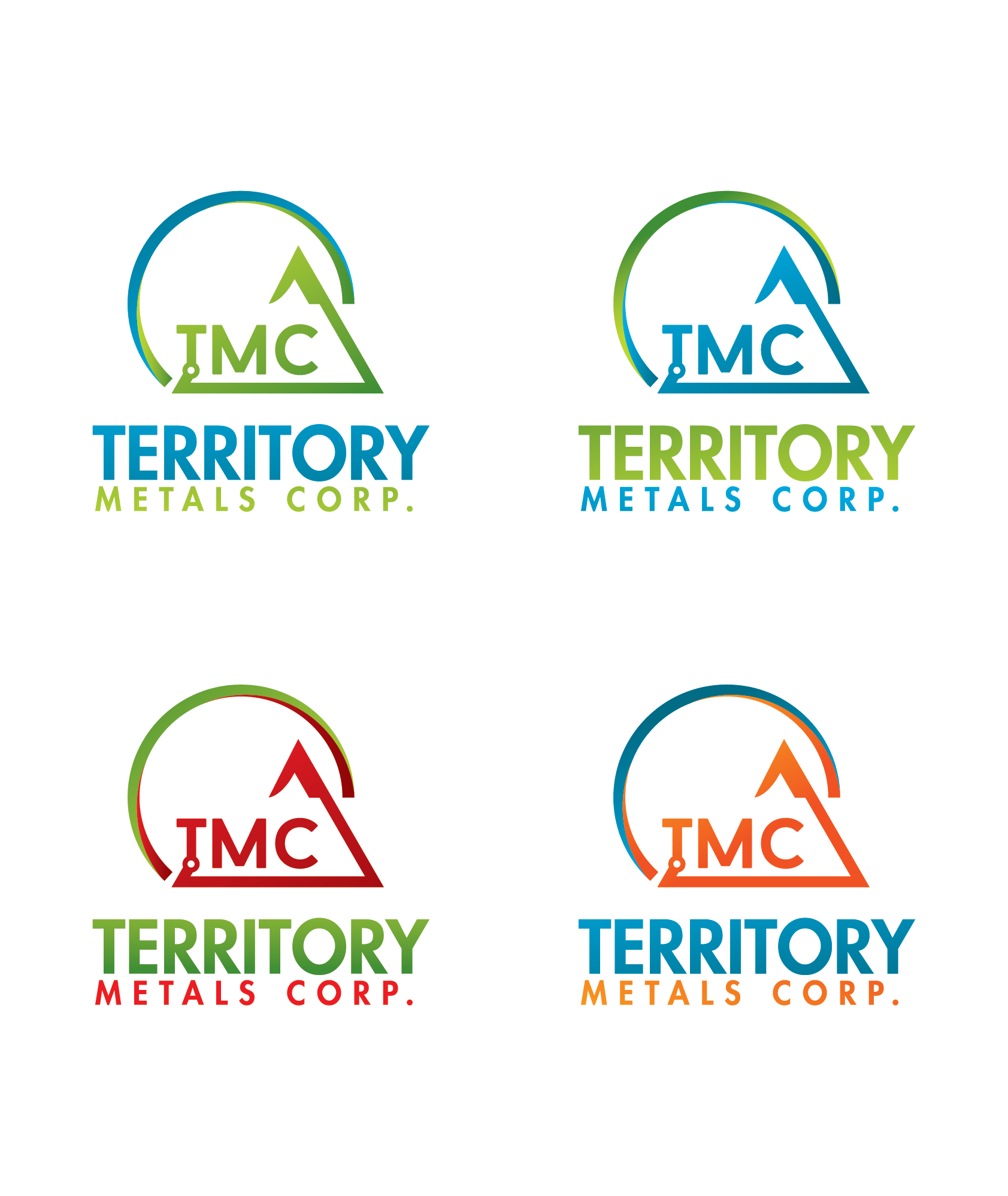 Logo Design by Prohor Ghagra - Entry No. 134 in the Logo Design Contest Unique Logo Design Wanted for Territory Metals Corp..