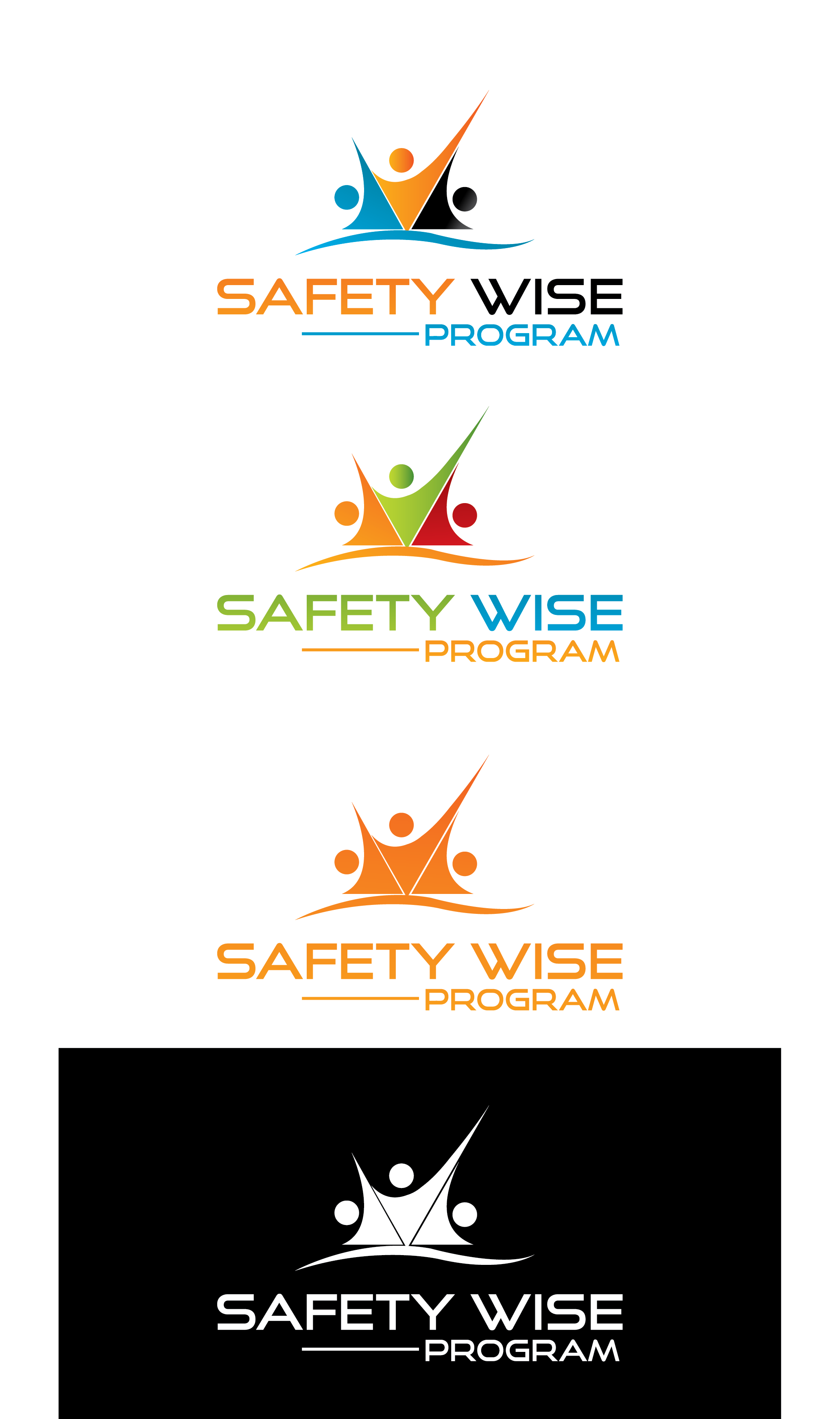 Logo Design by Prohor Ghagra - Entry No. 208 in the Logo Design Contest New Logo Design for Safety Wise Program.