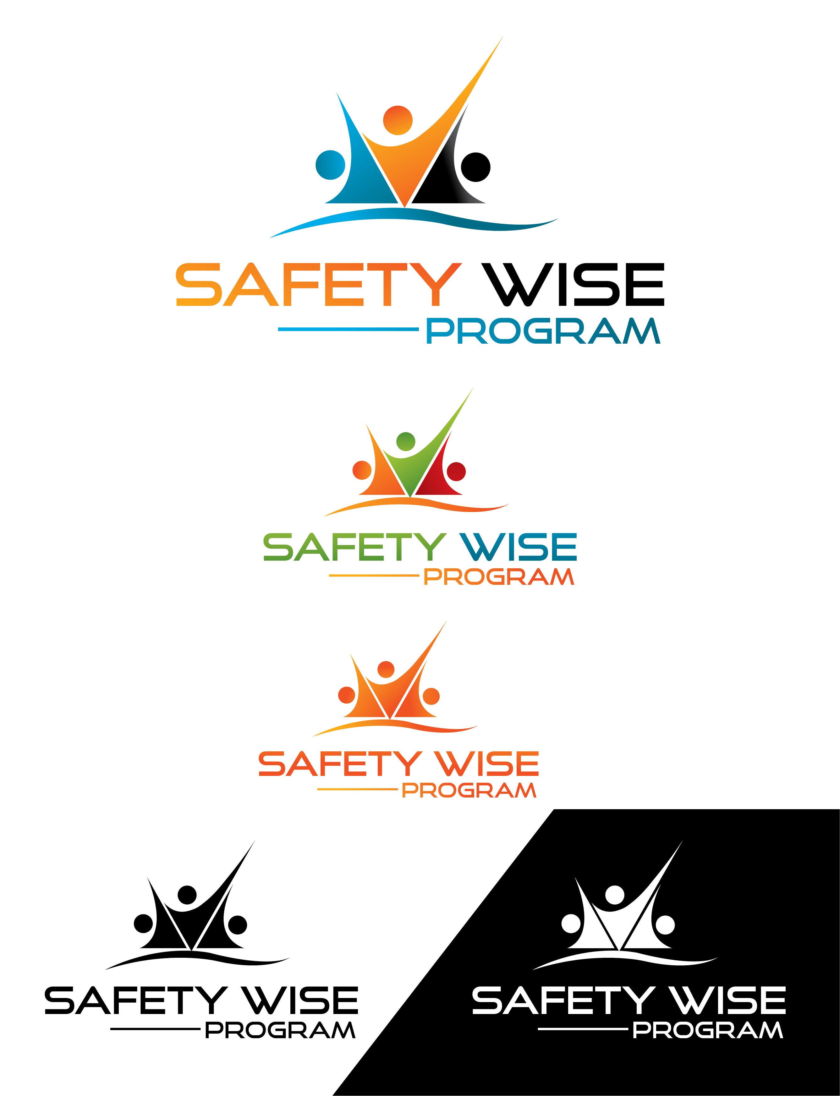Logo Design by Prohor Ghagra - Entry No. 209 in the Logo Design Contest New Logo Design for Safety Wise Program.