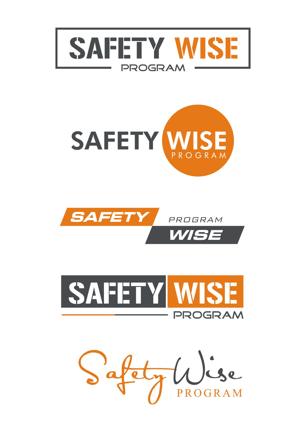 Logo Design by Spider Graphics - Entry No. 210 in the Logo Design Contest New Logo Design for Safety Wise Program.