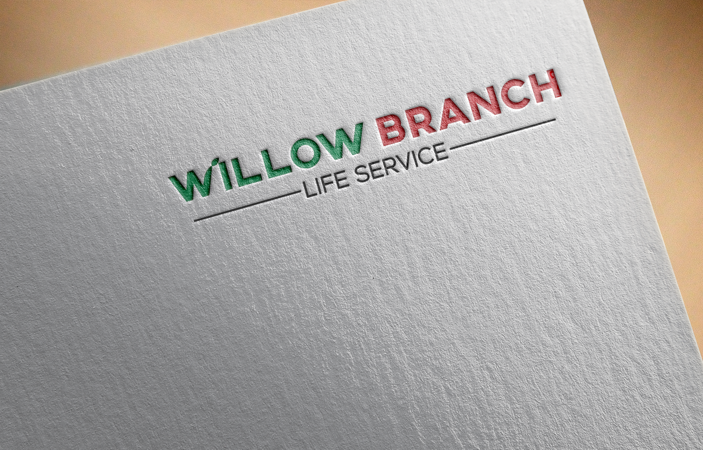 Logo Design by Ayrin Akter - Entry No. 222 in the Logo Design Contest Artistic Logo Design for Willow Branch Life Service.