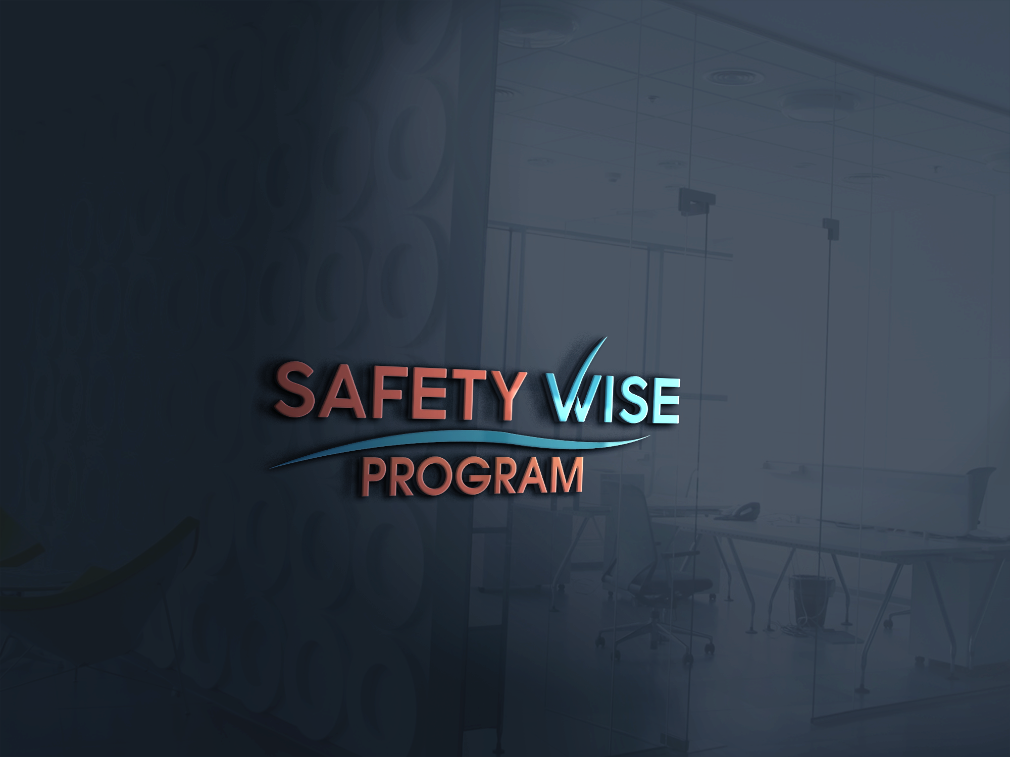Logo Design by Prohor Ghagra - Entry No. 214 in the Logo Design Contest New Logo Design for Safety Wise Program.