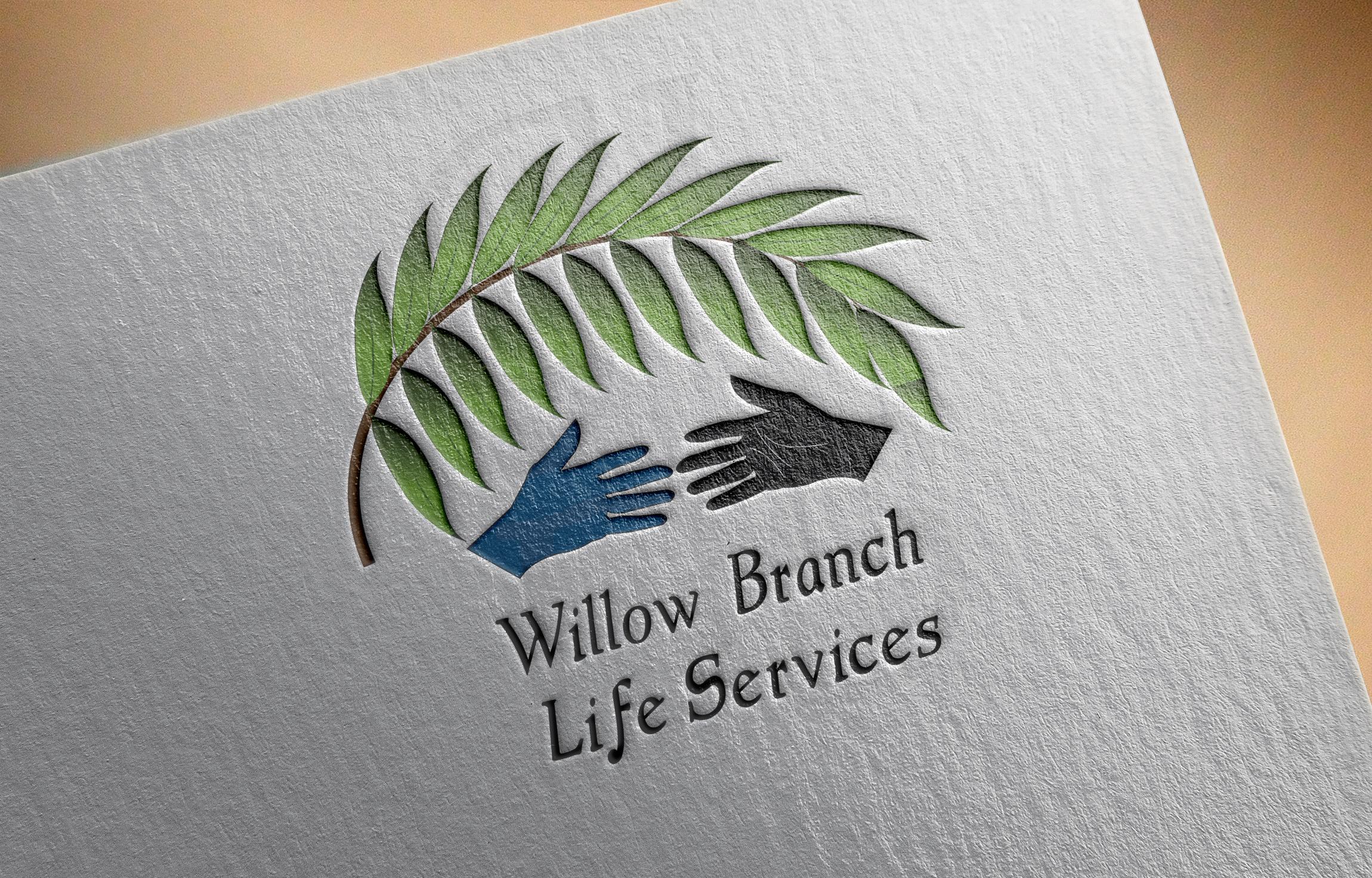 Logo Design by Goran Ledjenovic - Entry No. 224 in the Logo Design Contest Artistic Logo Design for Willow Branch Life Service.