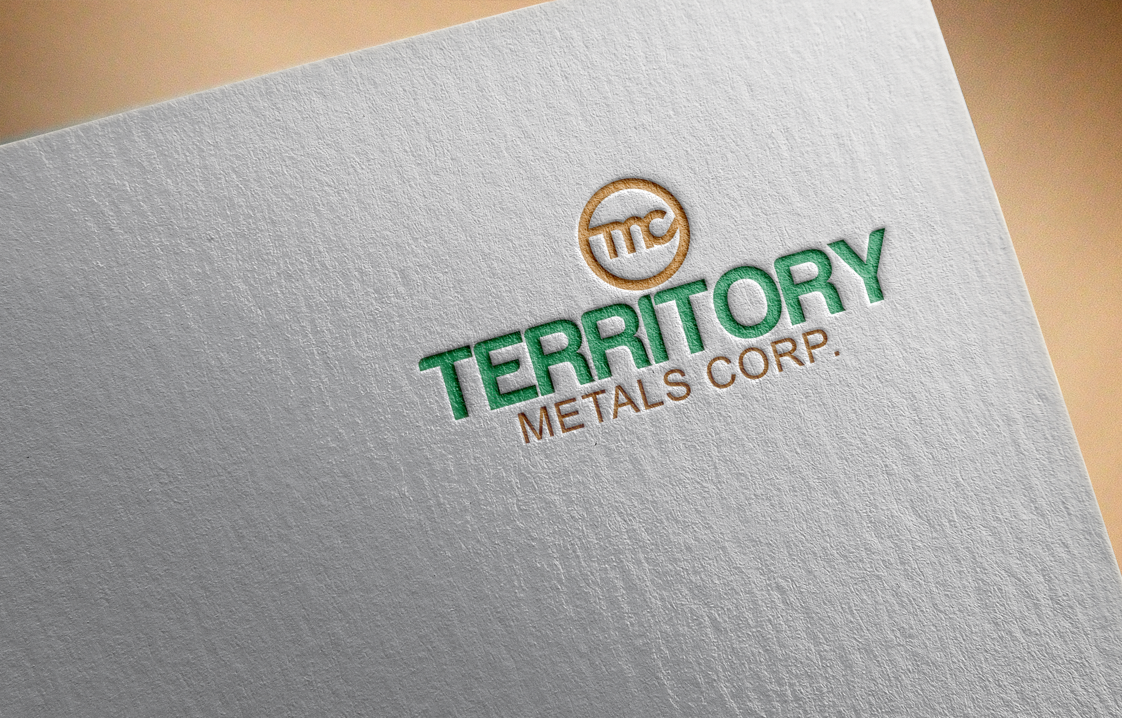 Logo Design by Ayrin Akter - Entry No. 149 in the Logo Design Contest Unique Logo Design Wanted for Territory Metals Corp..