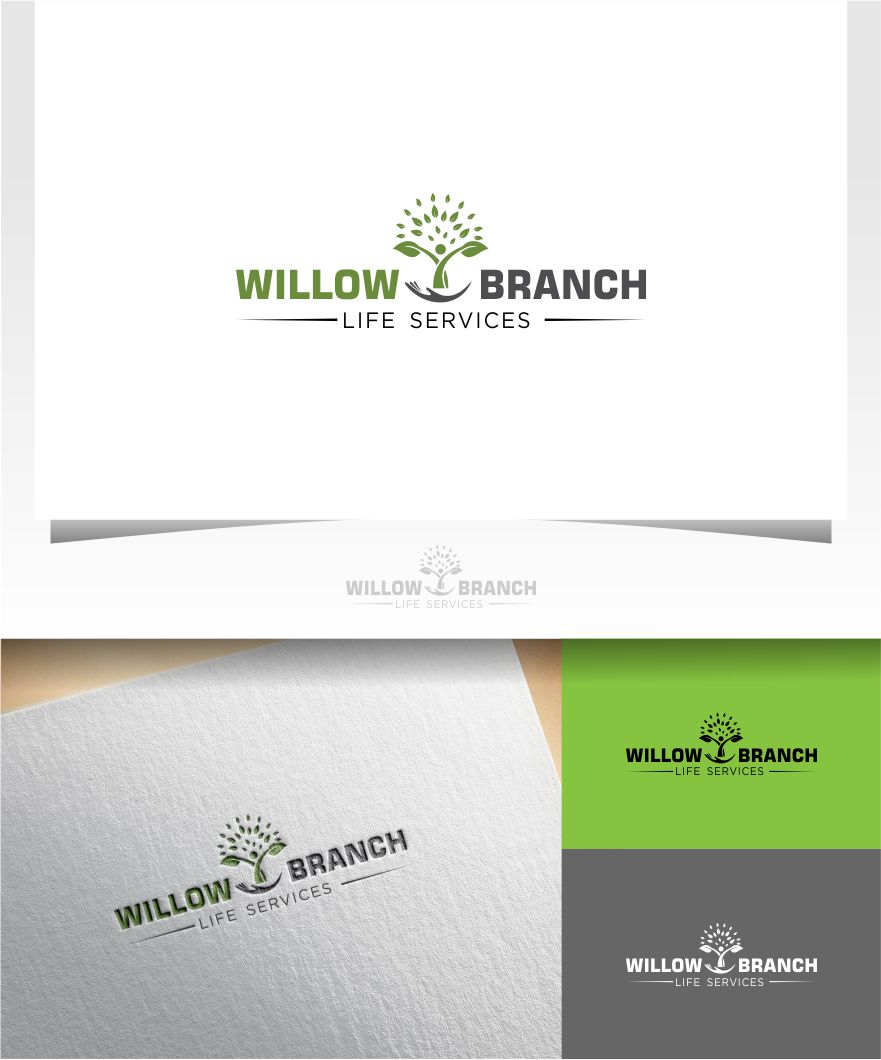 Logo Design by Raymond Garcia - Entry No. 225 in the Logo Design Contest Artistic Logo Design for Willow Branch Life Service.