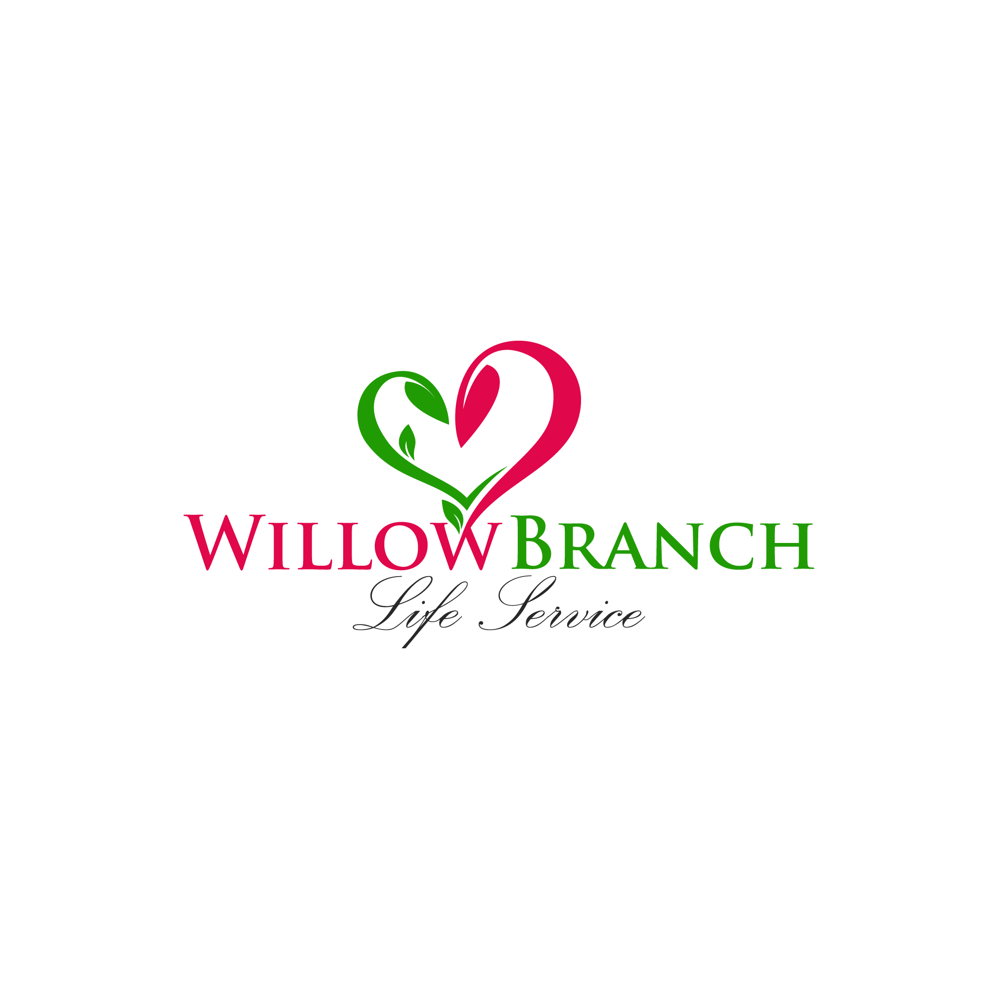 Logo Design by Runz - Entry No. 226 in the Logo Design Contest Artistic Logo Design for Willow Branch Life Service.