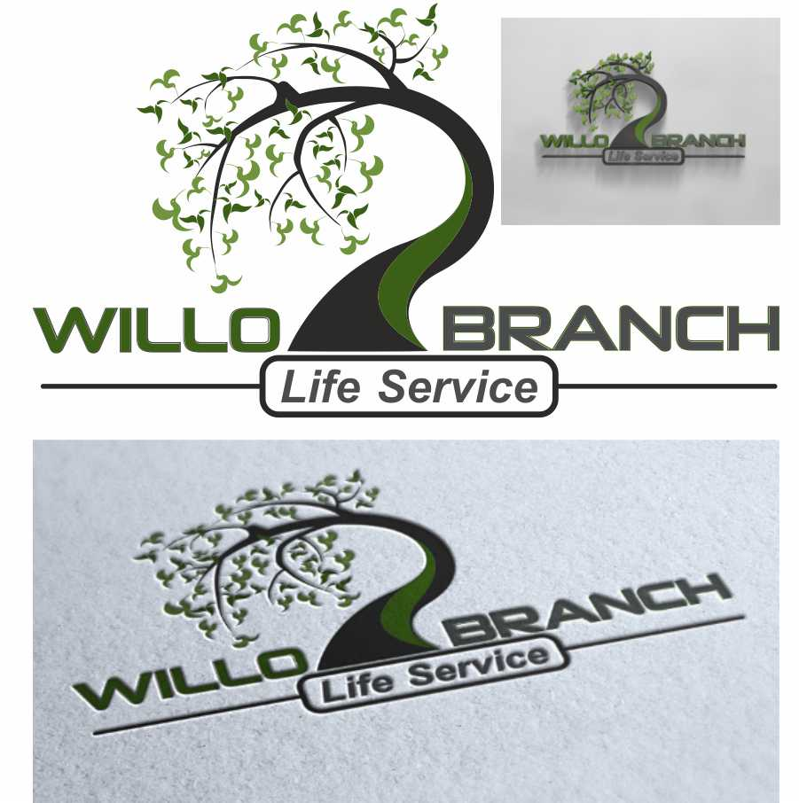 Logo Design by Taufiq Ardhani - Entry No. 227 in the Logo Design Contest Artistic Logo Design for Willow Branch Life Service.