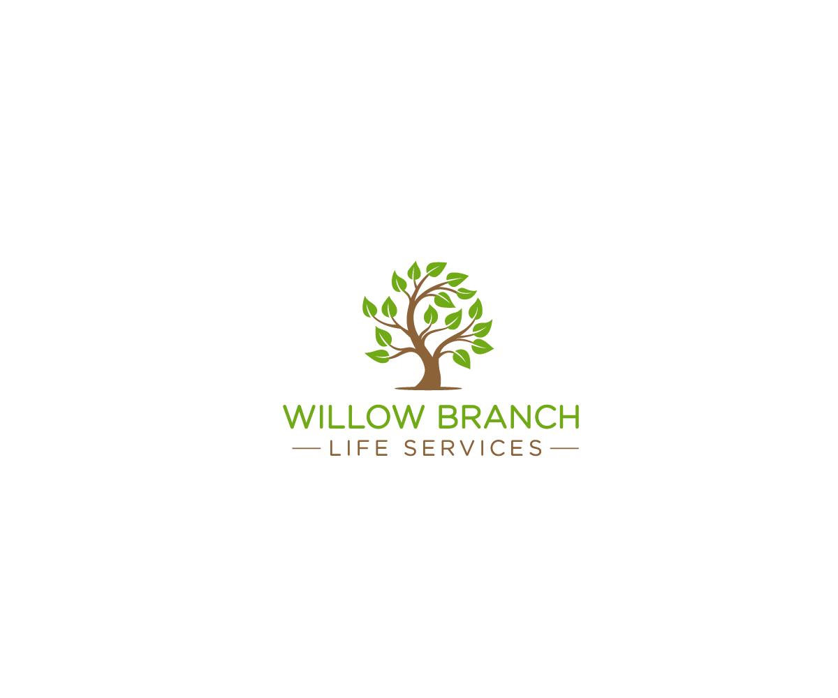 Logo Design by Juan Luna - Entry No. 228 in the Logo Design Contest Artistic Logo Design for Willow Branch Life Service.