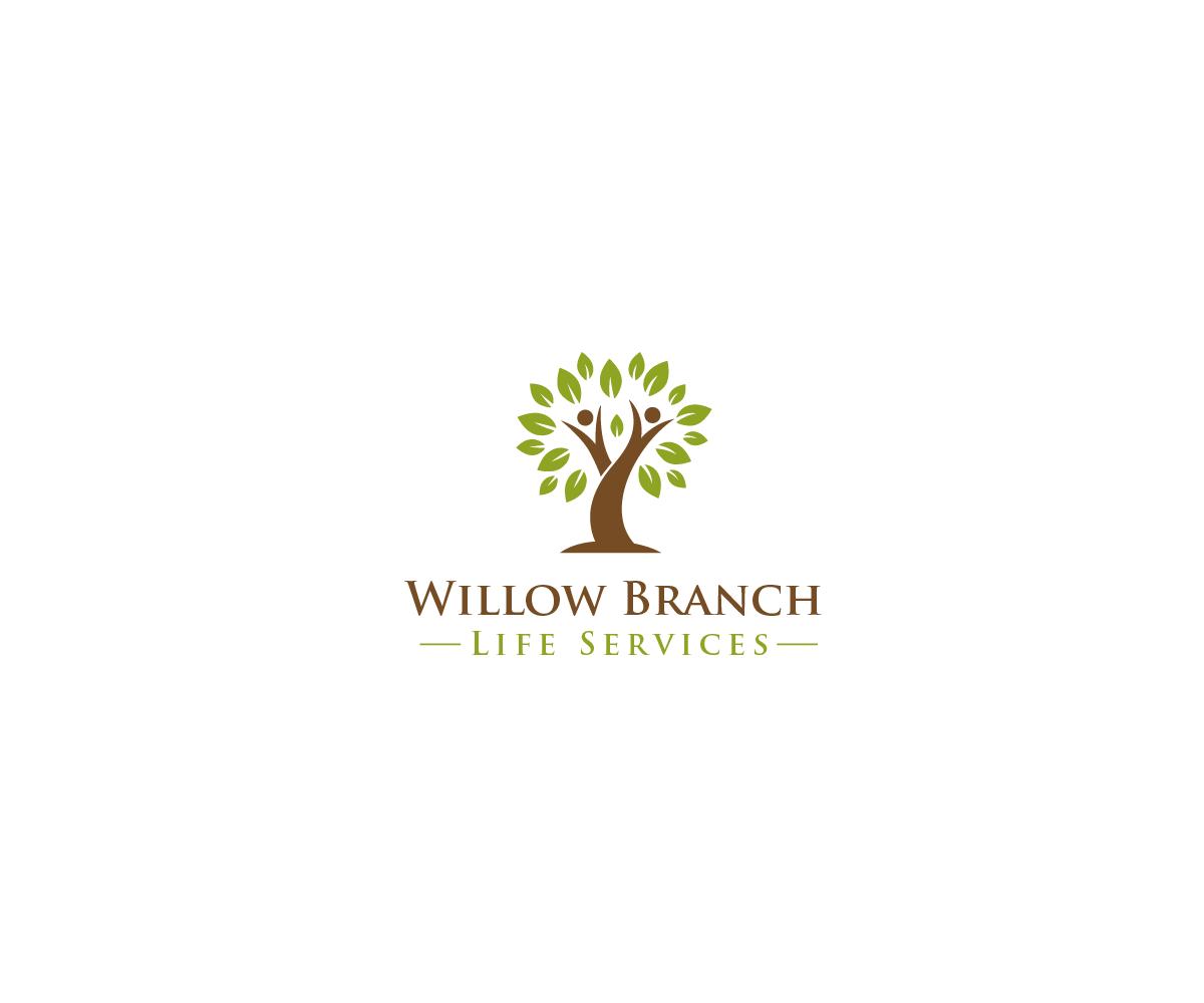 Logo Design by Juan Luna - Entry No. 229 in the Logo Design Contest Artistic Logo Design for Willow Branch Life Service.