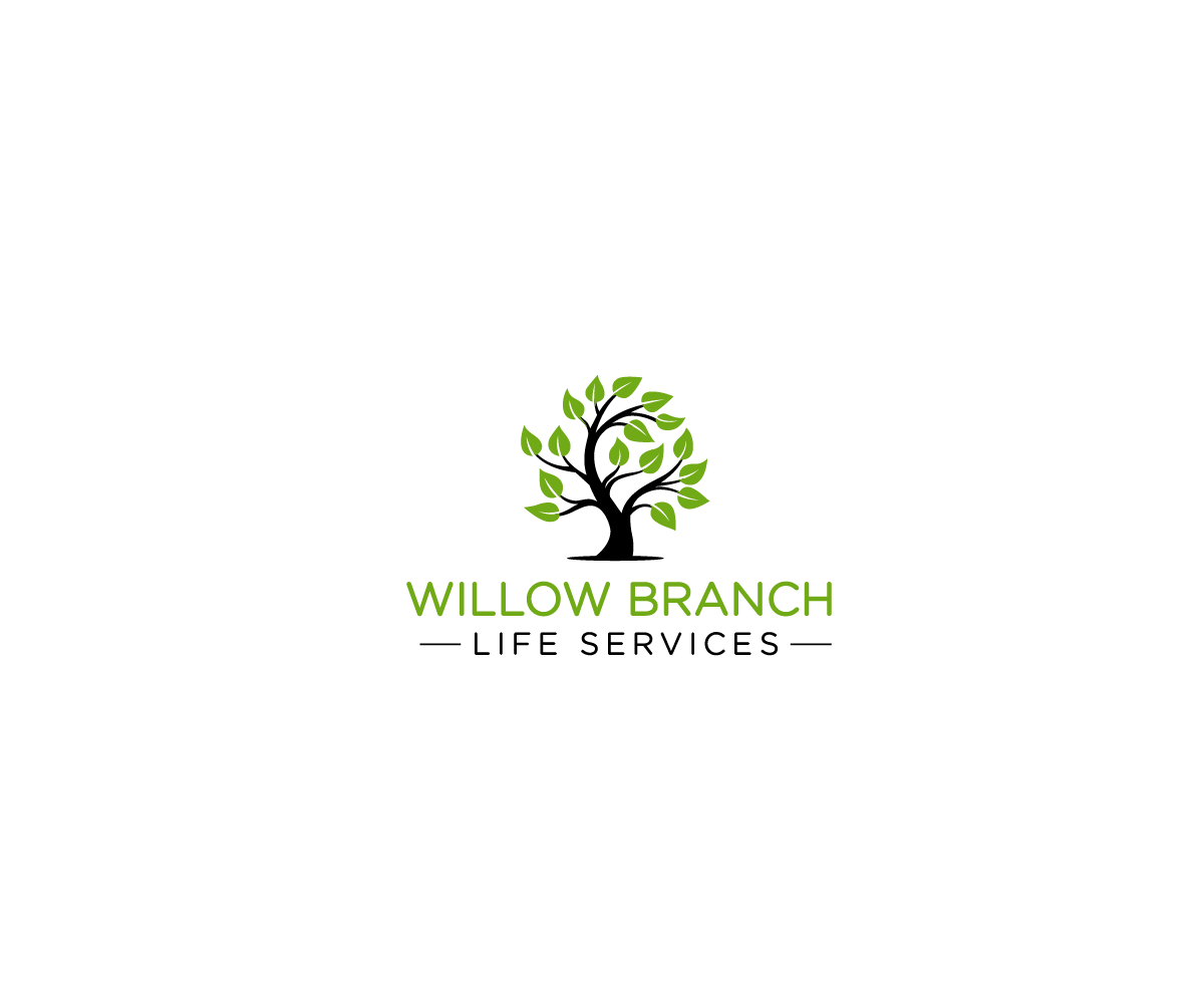 Logo Design by Juan Luna - Entry No. 231 in the Logo Design Contest Artistic Logo Design for Willow Branch Life Service.