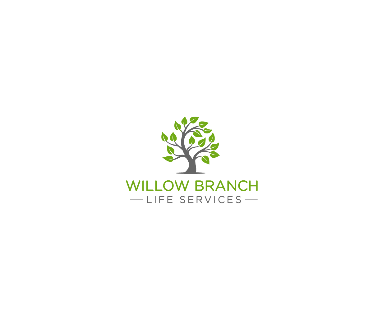 Logo Design by Juan Luna - Entry No. 232 in the Logo Design Contest Artistic Logo Design for Willow Branch Life Service.