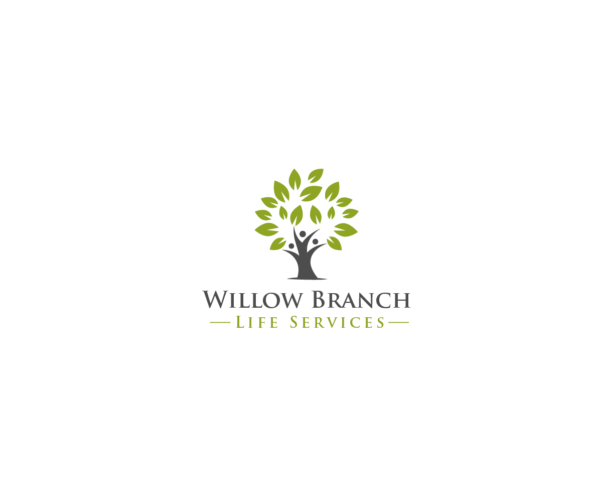Logo Design by Juan Luna - Entry No. 233 in the Logo Design Contest Artistic Logo Design for Willow Branch Life Service.