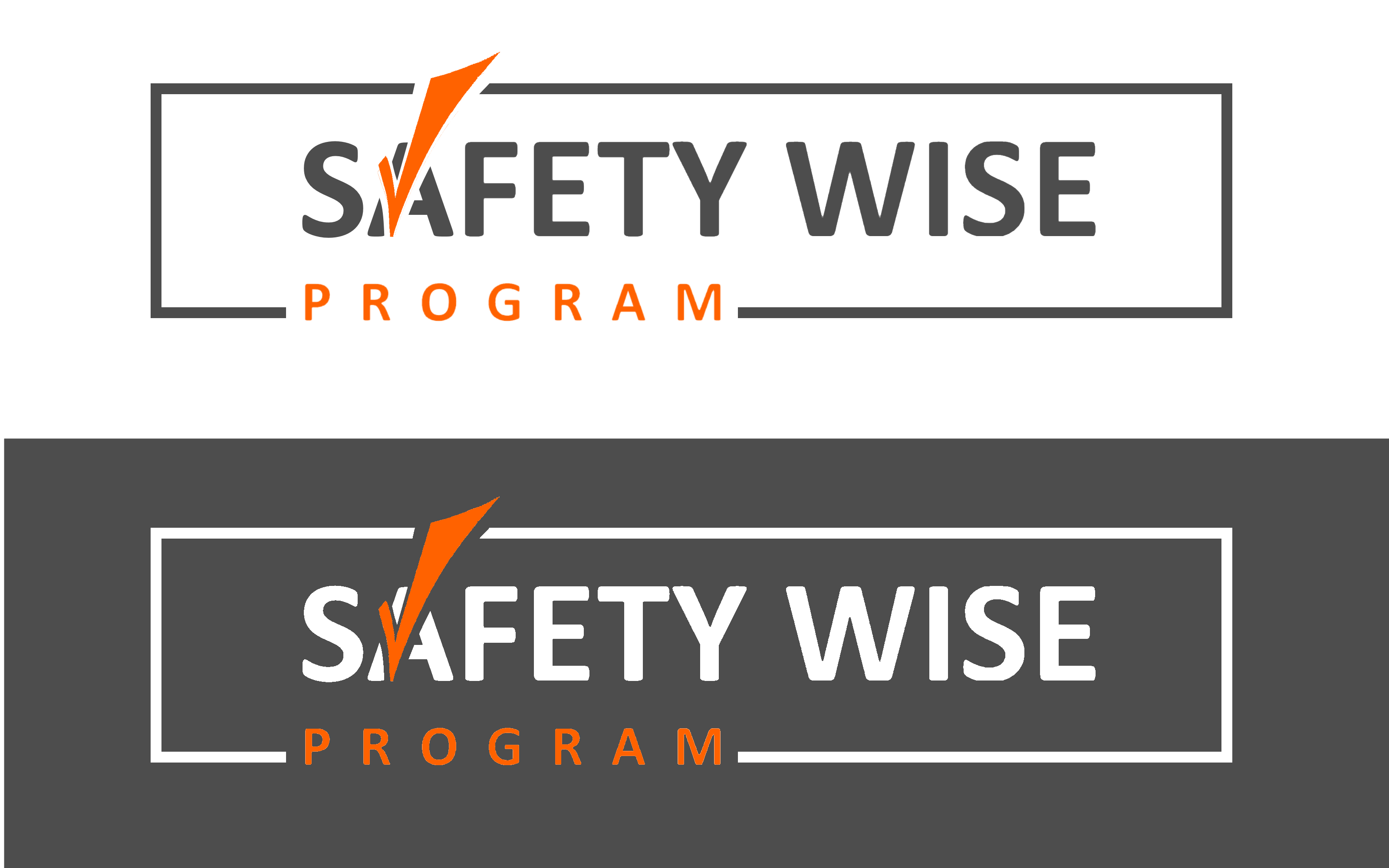 Logo Design by Roberto Bassi - Entry No. 221 in the Logo Design Contest New Logo Design for Safety Wise Program.