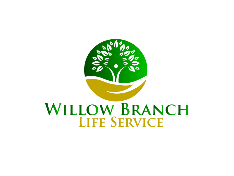 Logo Design by Private User - Entry No. 238 in the Logo Design Contest Artistic Logo Design for Willow Branch Life Service.