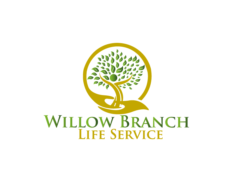 Logo Design by Private User - Entry No. 239 in the Logo Design Contest Artistic Logo Design for Willow Branch Life Service.