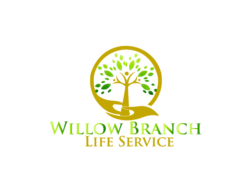 Logo Design by Private User - Entry No. 240 in the Logo Design Contest Artistic Logo Design for Willow Branch Life Service.