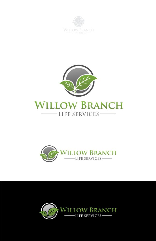 Logo Design by Raymond Garcia - Entry No. 241 in the Logo Design Contest Artistic Logo Design for Willow Branch Life Service.