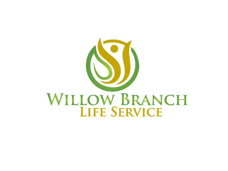 Logo Design by Private User - Entry No. 242 in the Logo Design Contest Artistic Logo Design for Willow Branch Life Service.