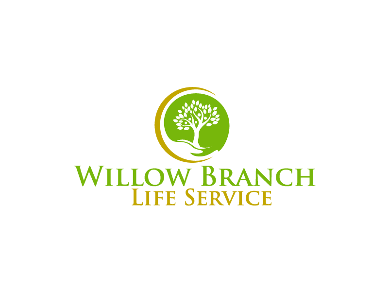 Logo Design by Private User - Entry No. 243 in the Logo Design Contest Artistic Logo Design for Willow Branch Life Service.