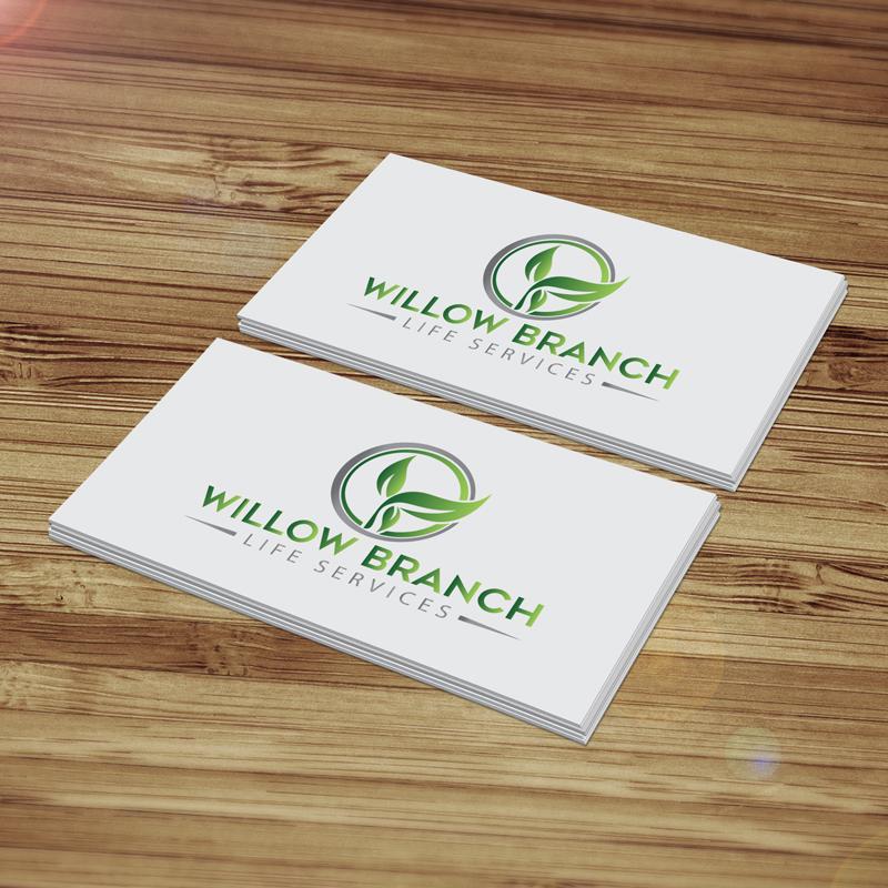 Logo Design by Melton Design - Entry No. 247 in the Logo Design Contest Artistic Logo Design for Willow Branch Life Service.
