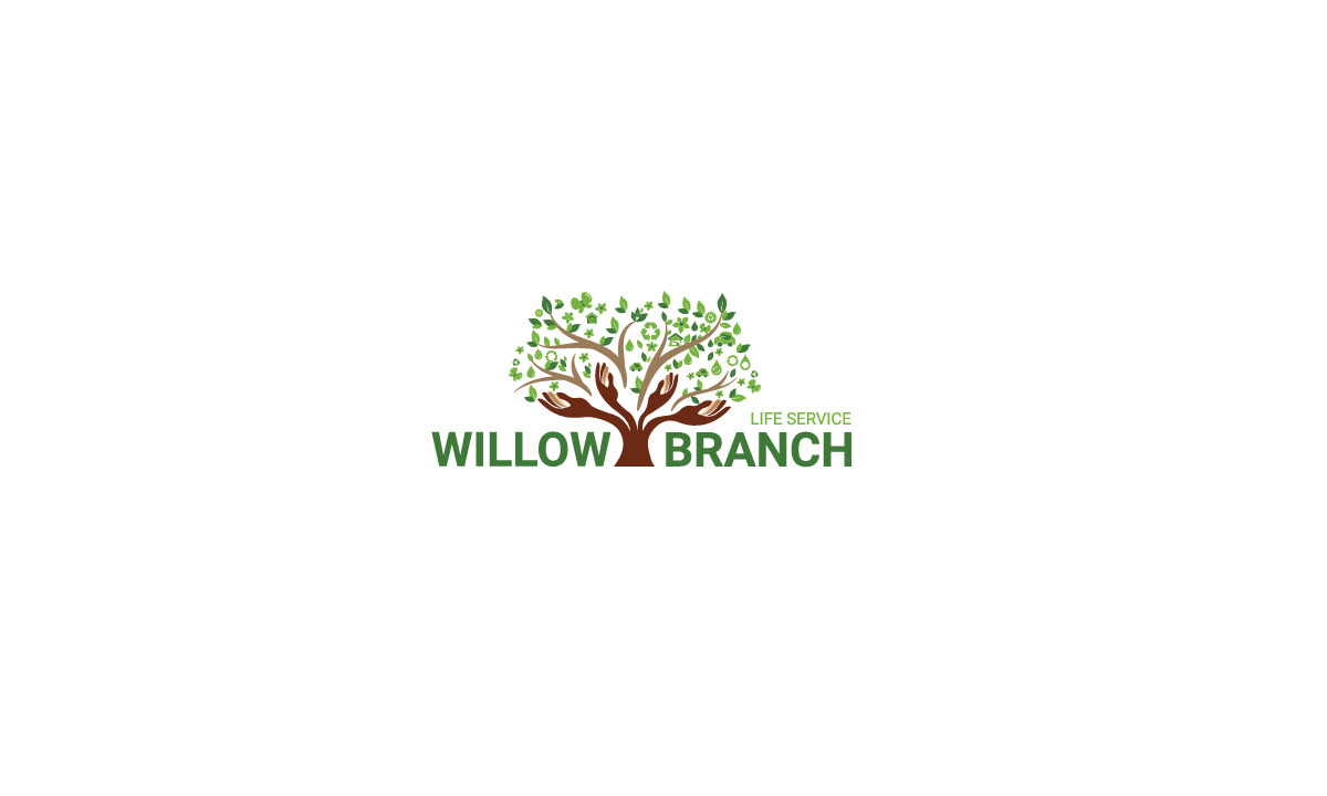 Logo Design by MD ZAHIR RAIHAN - Entry No. 252 in the Logo Design Contest Artistic Logo Design for Willow Branch Life Service.