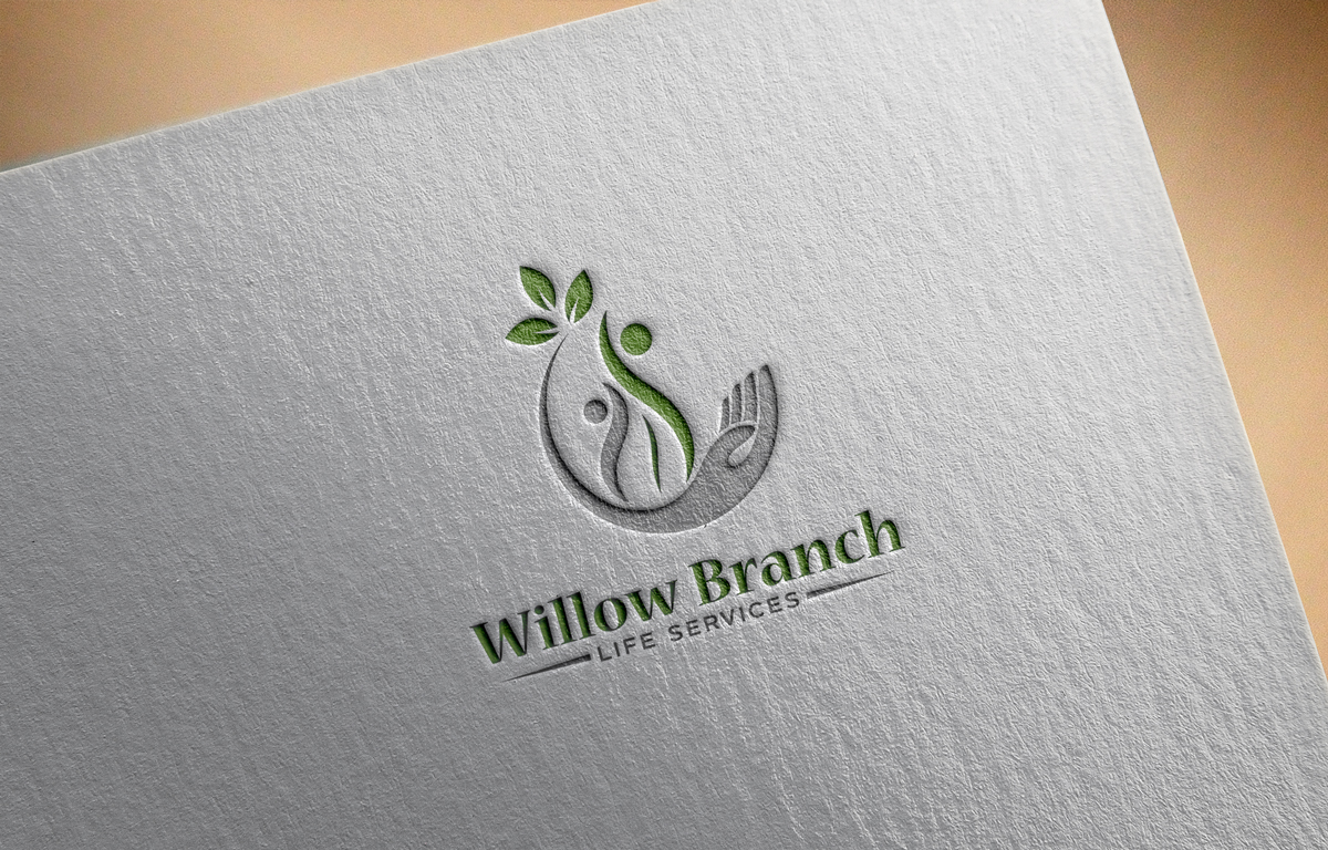 Logo Design by Tauhid Shaikh - Entry No. 254 in the Logo Design Contest Artistic Logo Design for Willow Branch Life Service.