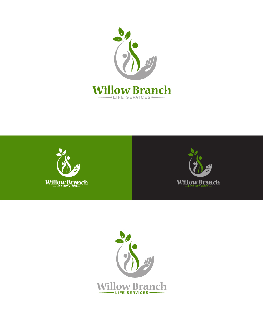 Logo Design by Tauhid Shaikh - Entry No. 255 in the Logo Design Contest Artistic Logo Design for Willow Branch Life Service.