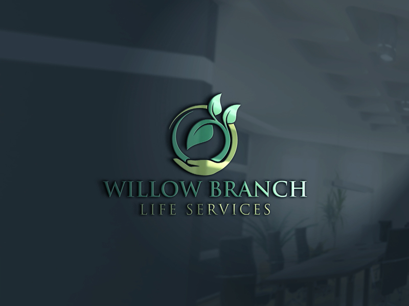 Logo Design by One Touch - Entry No. 258 in the Logo Design Contest Artistic Logo Design for Willow Branch Life Service.