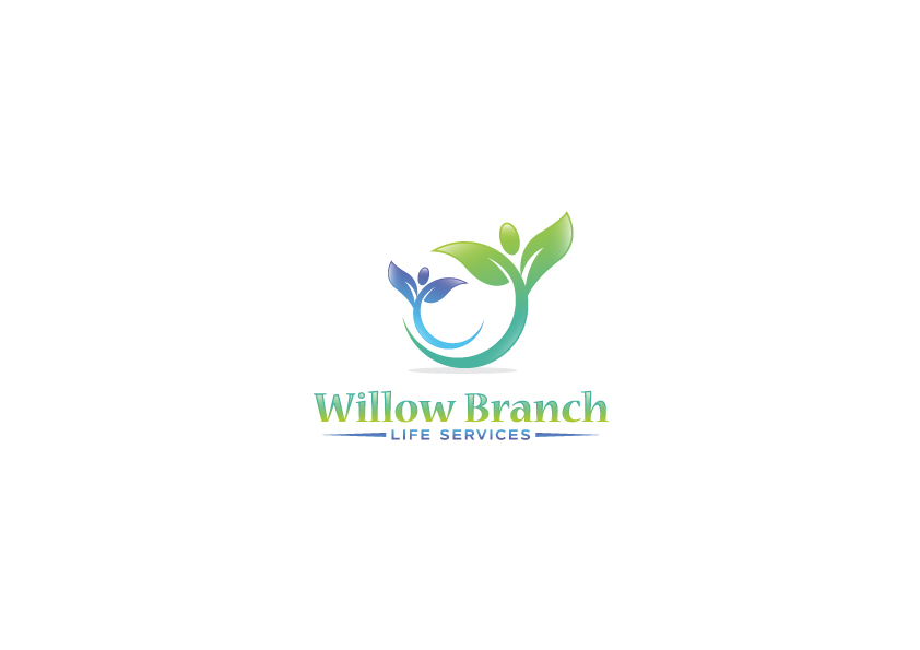 Logo Design by Tauhid Shaikh - Entry No. 259 in the Logo Design Contest Artistic Logo Design for Willow Branch Life Service.