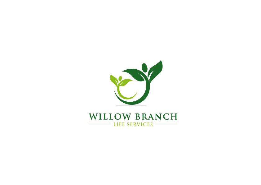 Logo Design by Tauhid Shaikh - Entry No. 262 in the Logo Design Contest Artistic Logo Design for Willow Branch Life Service.